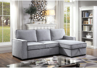 Ines Sectional in Gray