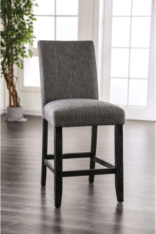 Burely Counter Height Chair in Light Gray