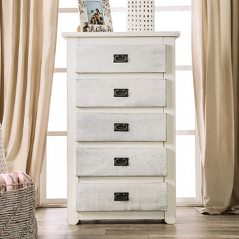 Rockwall Chest in Antique White