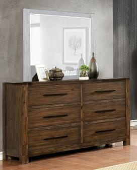 Coney Dresser in Walnut