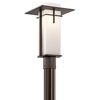 49646 1 Light Outdoor Post Light in Olde Bronze