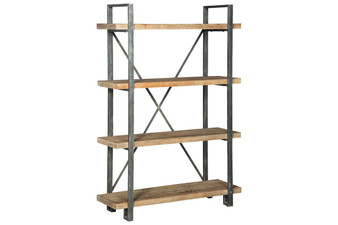 Forestmin Bookcase in Brown and Black