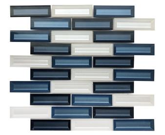 "JMG20003 12"" Glass Mosaic Tile"