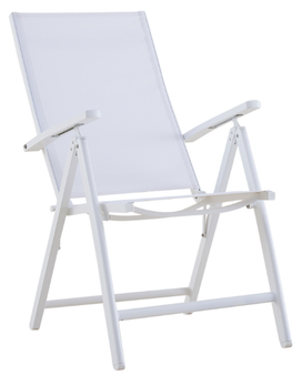 Smart Folding Chair in White