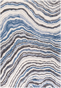 """Cielo 7'10"""" x 10' Large Rug in Blue"""