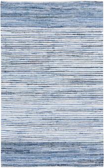 Denim 5' x 8' Medium Rug in Blue