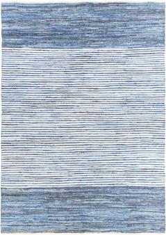 Denim 8' x 11' Large Rug in Blue