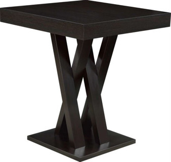 "36"" Bar Table in Cappuccino"