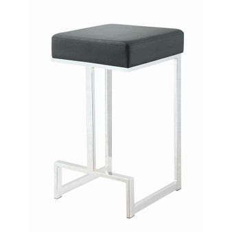 """Counter Height 25"""" Stool in Black"""