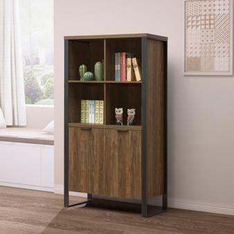 "35"" Bookcase in Walnut"
