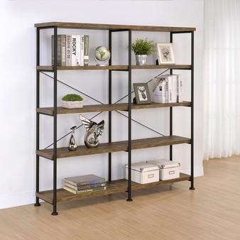 """60"""" Bookcase in Rustic Oak"""