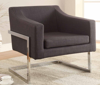 """30"""" Accent Chair in Grey"""