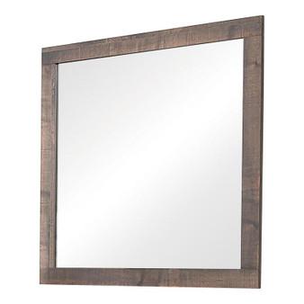 Fredrick Mirror in Weathered Oak
