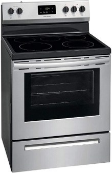 """Frigidaire 30"""" Electric Range in Stainless Steel"""