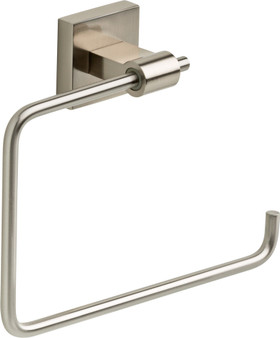 Maxted Towel Ring in Satin Nickel