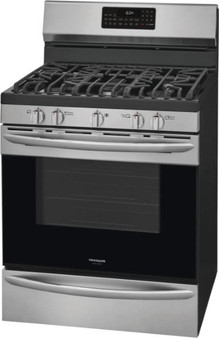 """Frigidaire Gallery 30"""" Gas Range with Air Fry in Stainless Steel"""