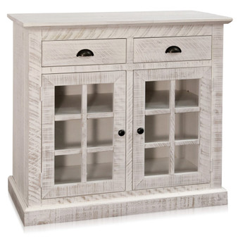 """38"""" Accent Cabinet in White"""