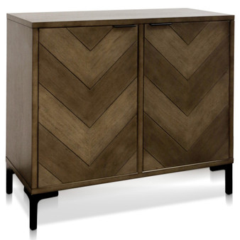 Accent Cabinet in Cool Taupe