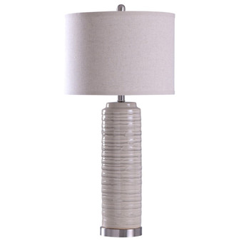 Anastasia Table Lamp in Ivory