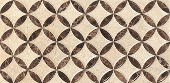 "Star Adonis Crema 10""x 20"" Ceramic Wall Tile"