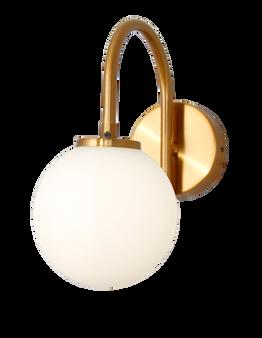 8932 1 Light Wall Sconce in Brass