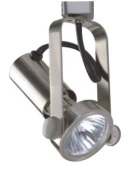 PTR44 Track Light in Satin Nickel