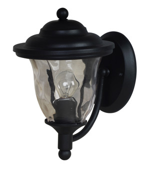 8703 Outdoor Wall Sconce in Black