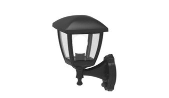 E053 Outdoor Wall Sconce in Black