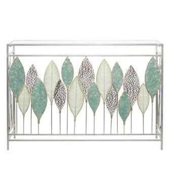 Leaf Design Console Table