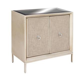 Wood & Metal Mirror Cabinet