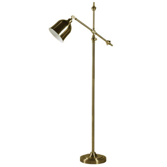 Floor Lamp in Brass