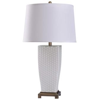 White Spray Table Lamp
