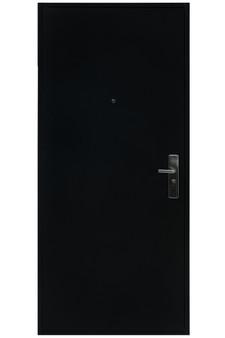 """MX1N2000GA LH 36""""x80"""" Steel Security Door in Black"""
