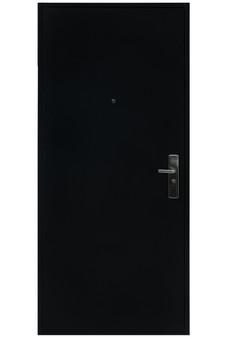 """MX1N2000GA RH 36""""x80"""" Steel Security Door in Black"""