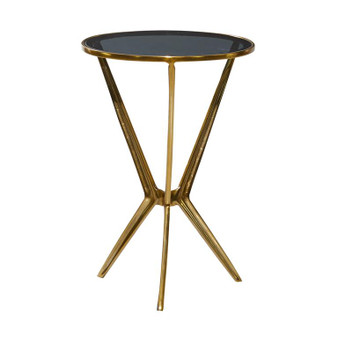 Black & Gold Accent Table