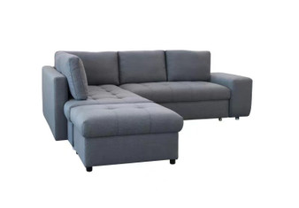 9582 Sofa Sectional in Dark Grey