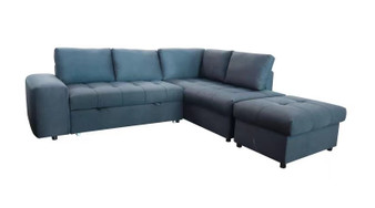 9582 Sofa Sectional in Charcoal