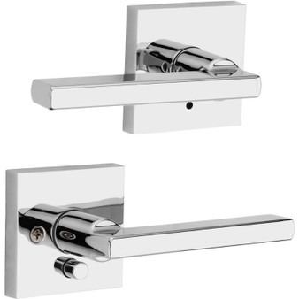 Halifax Privacy Lock in Polished Chrome