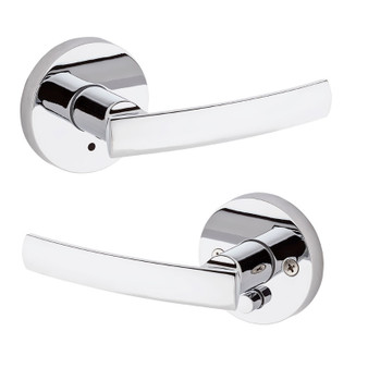 Sydney Privacy Lock in Polished Chrome