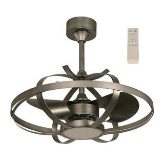 """LED 22"""" Inverter Ceiling Fan in Silver"""