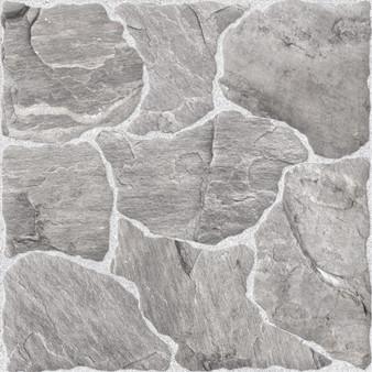"""Pedra Gris 17""""x 17"""" Ceramic Floor Tile"""
