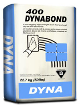 Dynabond 400 Floor & Wall Thinset in White