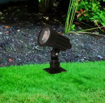 21364 5W Outdoor LED Garden Light in Black