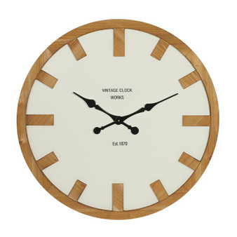 Metal & Wood Clock