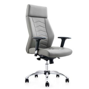 Beige Swivel Office Chair