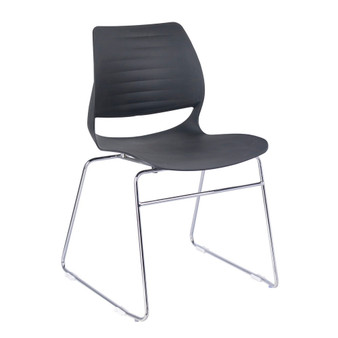 Black & Silver Office Chair