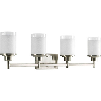 4  Light Wall Light in Brushed Nickel (SW8936)