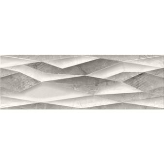 "12""x36"" Sary Decor Mix Gris Porcelain Wall/Floor Tile"