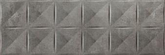 """8""""x24"""" Madox Relieve Antracita Ceramic Wall Tile"""