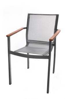Grey Tabou Outdoor Chair